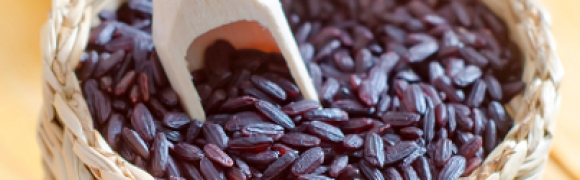 "THE HEALTH BENEFITS OF BLACK RICE ""AKA"" FORBIDDEN RICE…"