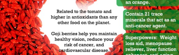 Health Benefits Of Goji Berry…