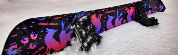 UrbanVixen – Mystic Night, SnowBoard Creation