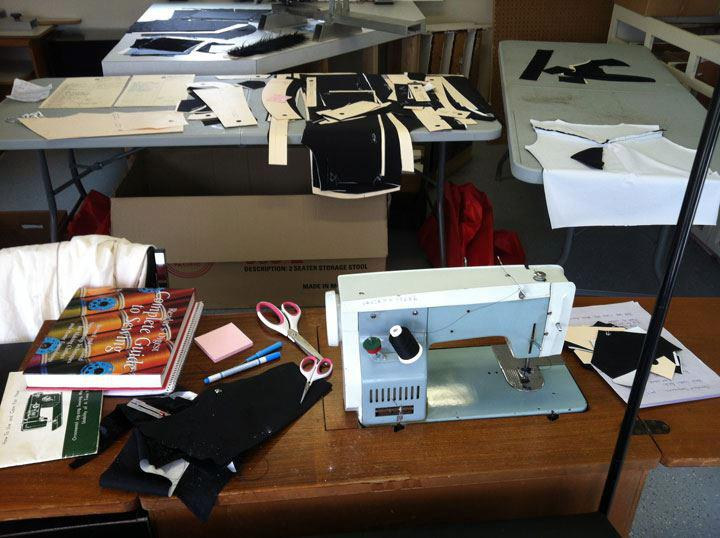 UrbanVixen sewing machine