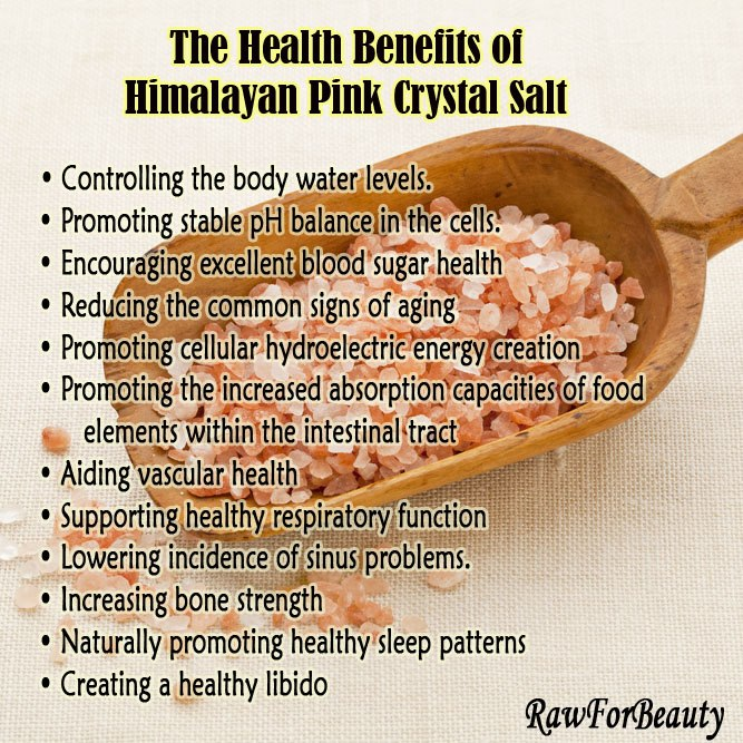 Benefits Of Himilayan Pink Salt Urbanvixen Clothing