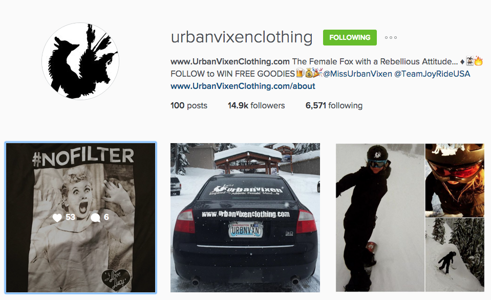 UrbanVixen Clothing Urban Vixen